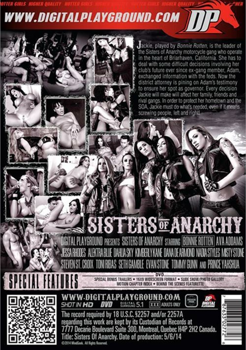 Sisters Of Anarchy Boxcover