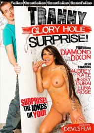 Tranny Glory Hole Surprise Porn Video