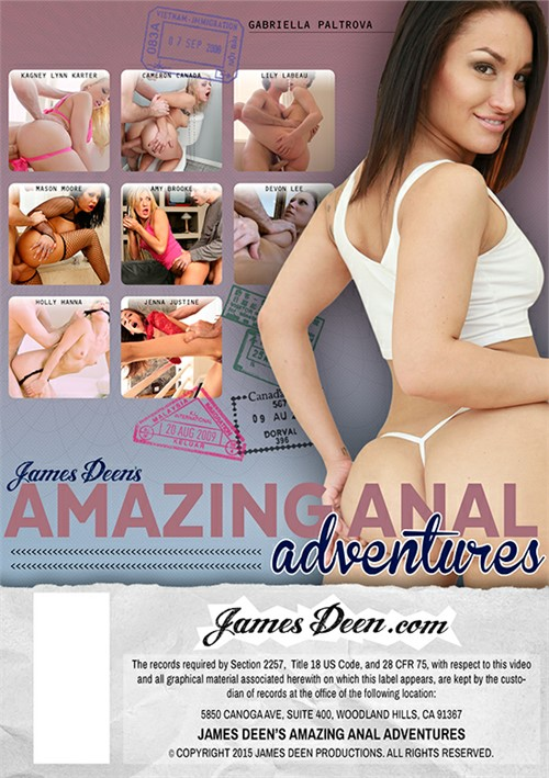 Amazing Anal Adventures Boxcover