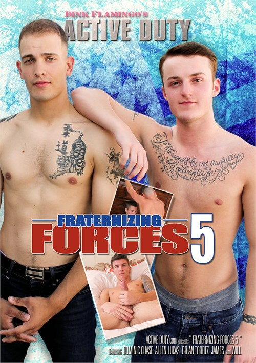 Fraternizing F-rces 5 Boxcover