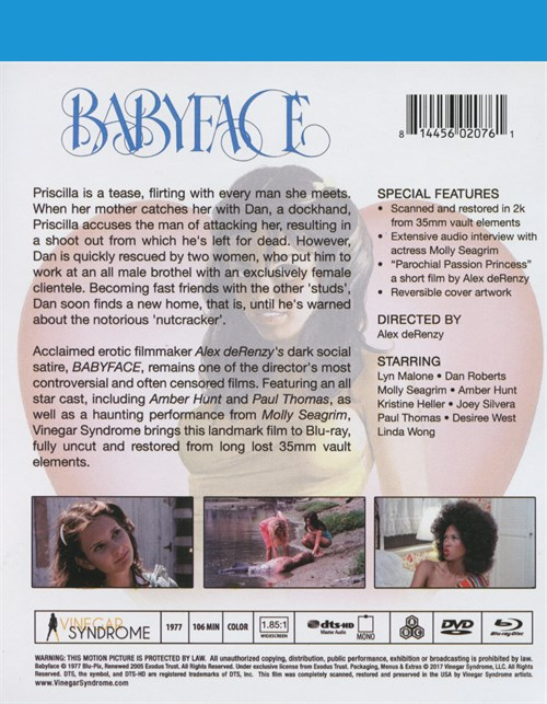 Back cover of Baby Face