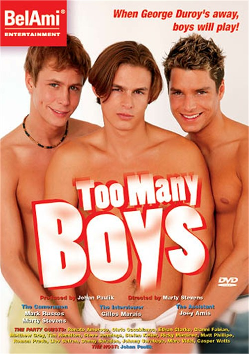 Too Many Boys Cover Front