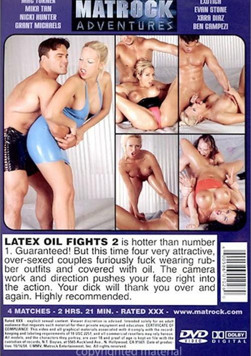 Latex oil fights