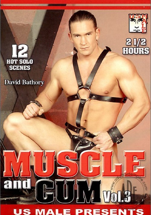 Muscle and Cum Vol. 3 Boxcover