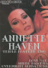 Annette Haven Triple Feature 2, The Boxcover