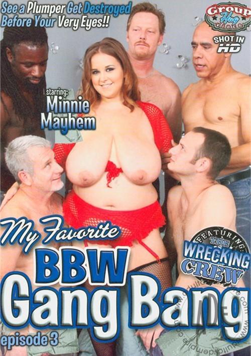 Bbw gang bang porno