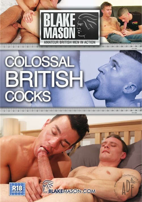 Colossal British Cocks Boxcover
