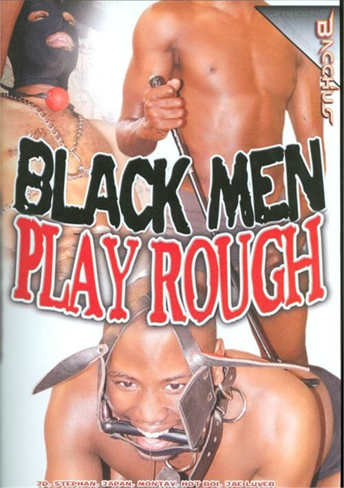 Black Men Play Rough Boxcover