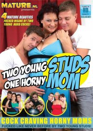 Two Young Studs One Horny Mom Porn Video