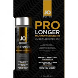 JO Prolonger Male Genital Desensitizer Spray with Lidocaine - 2oz Sex Toy