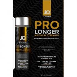 JO Prolonger Male Genital Desensitizer Spray with Lidocaine - 2oz Sex Toy