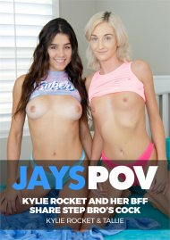 Sexy Teen Kylie Rocket and Her BFF Tallie Share Step Bro's Cock image