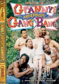 Granny's Interracial Gang Bang Porn Video