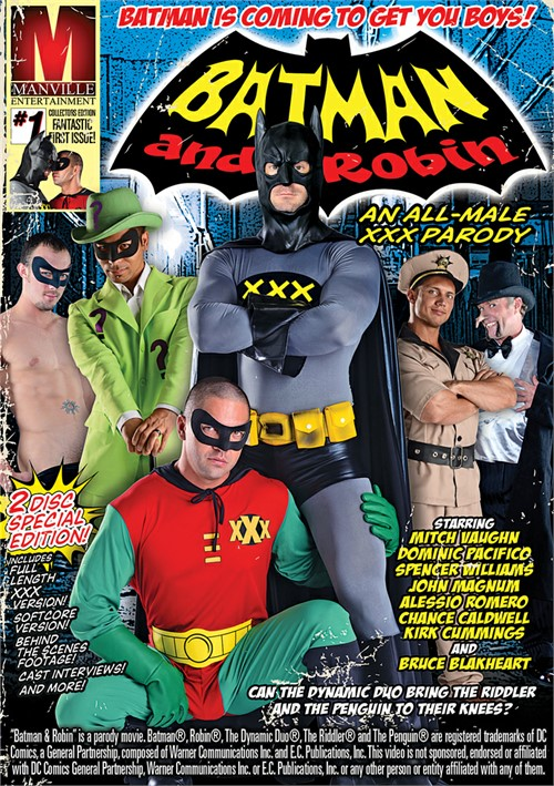 Batman And Robin: An All-Male XXX Parody Boxcover