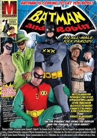 Batman And Robin: An All-Male XXX Parody gay porn streaming video from Manville Entertainment.