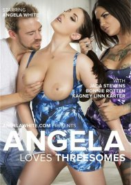 Angela Loves Threesomes Porn Video