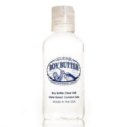 Boy Butter Condom Safe Personal Lubricant - Clear - 4oz