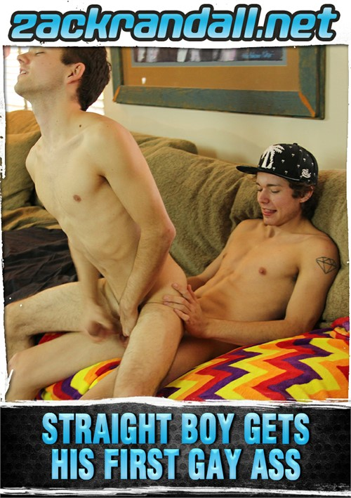Straight Boy Gets His First Gay Ass Boxcover
