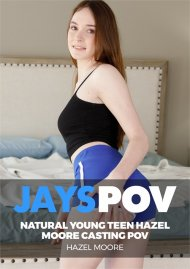Natural Young Teen Hazel Moore Casting POV image