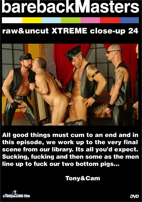 Bareback Masters: Raw & Uncut Xtreme Close-Up 24 Boxcover