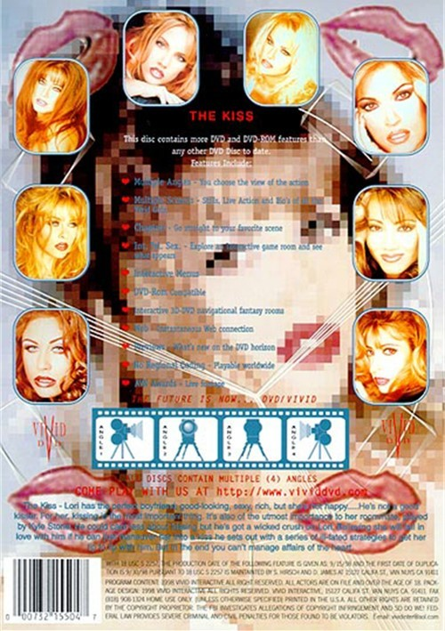Back cover of The Kiss
