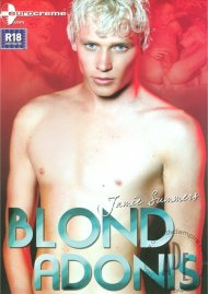 Blond Adonis gay porn VOD from Eurocreme