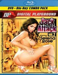 Jack Attack Vol. 2 (DVD + Blu-ray Combo) Blu-ray Porn Movie