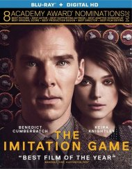 Imitation Game, The (Blu-ray + UltraViolet) Gay Cinema Movie