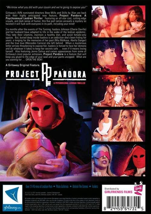 Project Pandora Boxcover