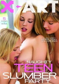 Naughty Teen Slumber Party Porn Video