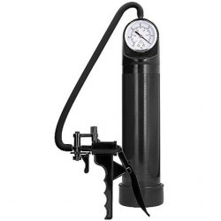 Pumped Elite Pump With Advanced PSI Gauge – Black.