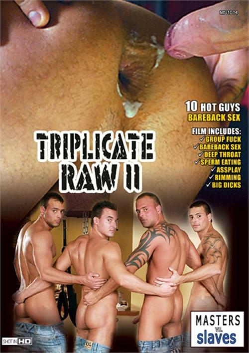 Triplicate Raw 2 Boxcover