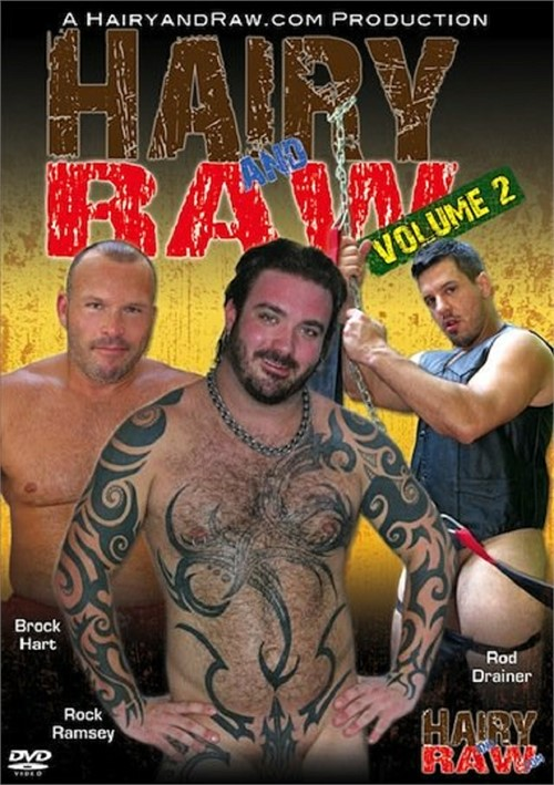 Hairy and Raw Vol. 2 Boxcover
