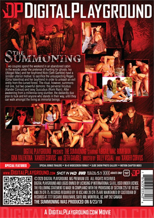 Back cover of The Summoning