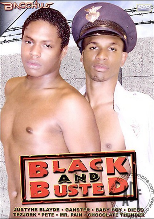 Black and Busted Boxcover