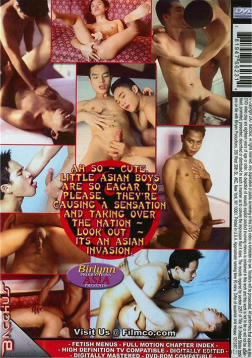 Asian Invasion 2 Cover Back