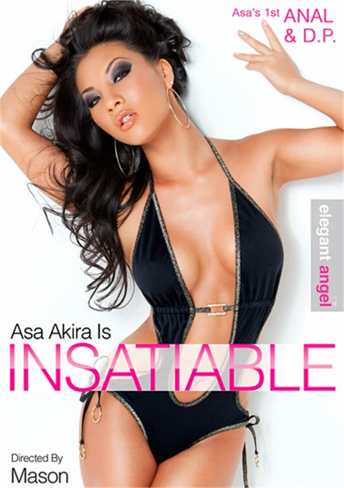 Asa Akira Is Insatiable Boxcover