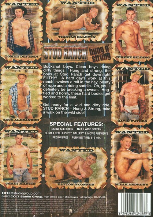 Stud Ranch Hung n Strung gay porn youngest gay boy pic