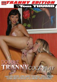 Double Tranny Cock Play Porn Video