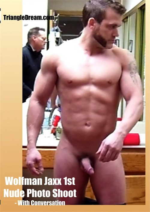 Wolfman Jaxx 1st Nude Photo Shoot - with Conversation Boxcover