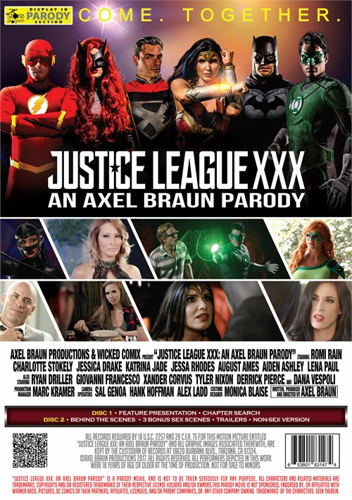 league parody Justice xxx
