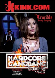 Hardcore Gangbang Parodies Vol. 3 porn DVD from Kink.