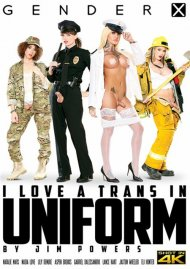 I Love A Trans In Uniform Porn Video