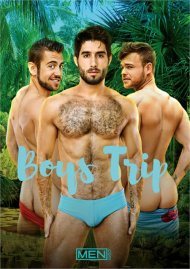 Boys Trip gay porn DVD from Men.com