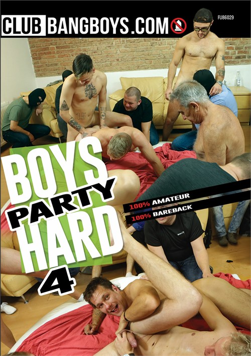 Boys Party Hard 4 Boxcover
