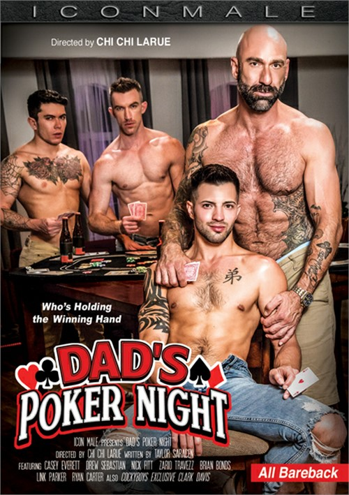 Dads Poker Night Cover Front