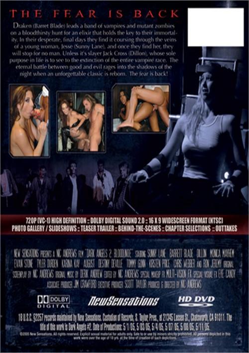 Back cover of Dark Angels 2: Bloodline