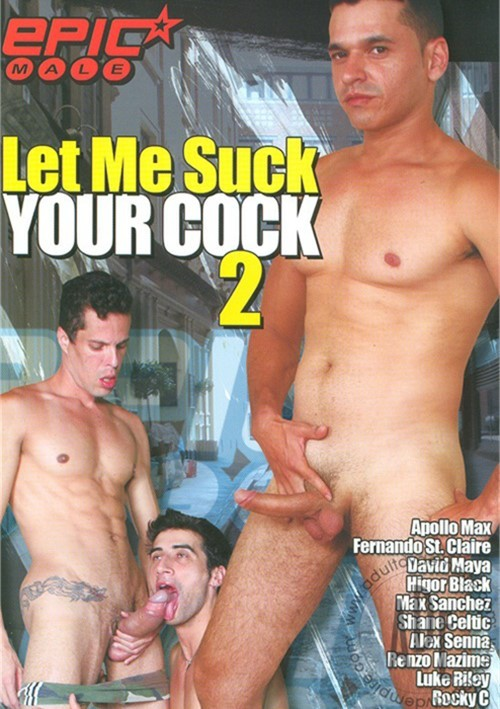 Let Me Suck Your Cock 2 Boxcover