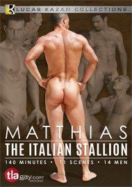 Matthias: The Italian Stallion gay porn DVD from Lucas Kazan Productions.