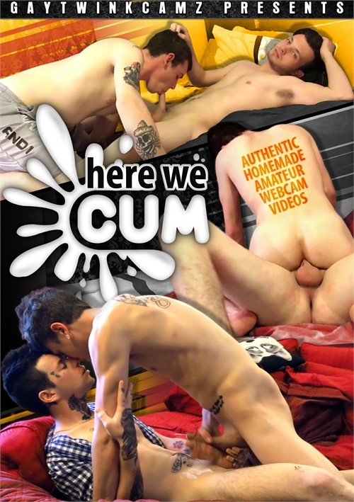 Here We Cum Boxcover